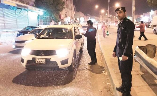 ضبط شاب وفتاة في الكويت قاما بأفعال فاضحة في الطريق العام