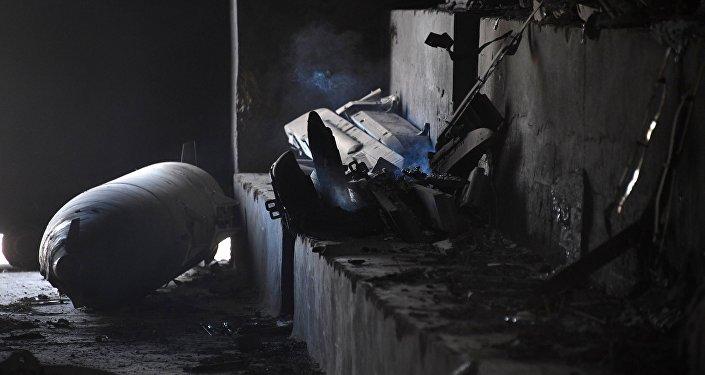 هجوم صاروخي على قاعدة الشعيرات بحمص.. والبنتاغون يعلق
