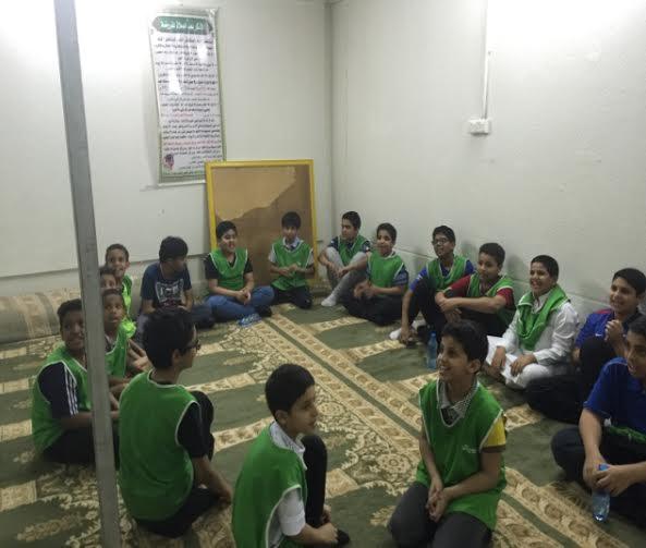 الشقردية وعلوم الرجال مناشط الطلاب في أندية الرياض الموسمية
