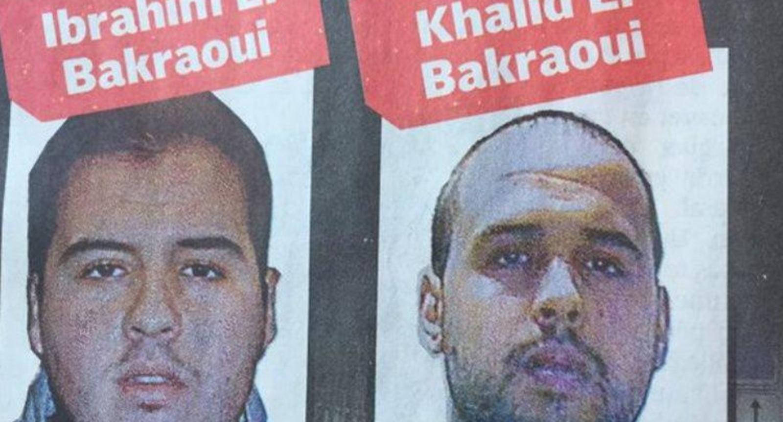 الشقيقان البكراوي تفجير مطار بروكسل