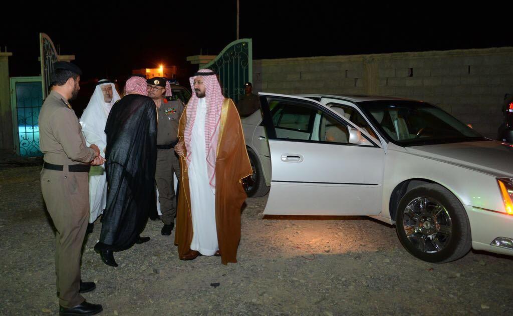 الشمري ينقل تعازي أمير الباحة في شهيد الواجب الغامدي (3)