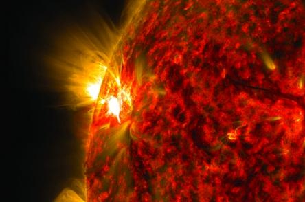 الشمس-والارض
