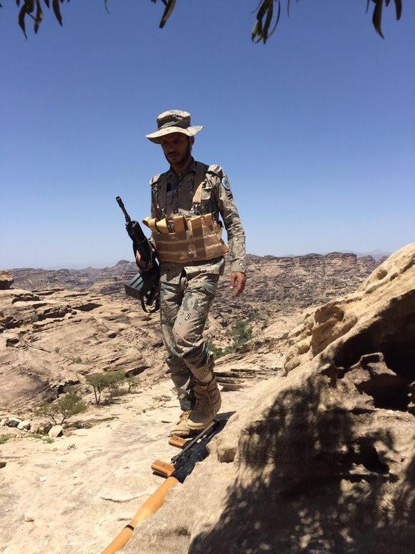 الشهيد العريف مشبب سعيد الأحمري (3)