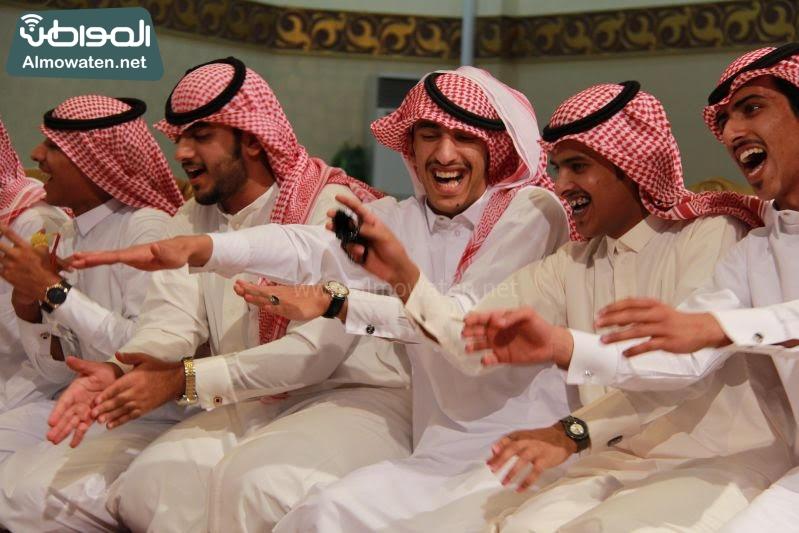 الشيحة يحتفلون بزواج تركي في رفحاء (27)