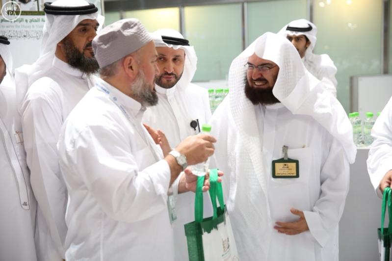 الشيخ السديس يتفقد أعمال رئاسة المسجد النبوي بالمدينة (3)