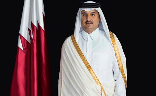 الشيخ تميم بن حمد آل ثاني قطر
