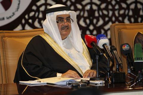 الشيخ خالد بن أحمد آل خليفة وزير الخارجية البحرينى