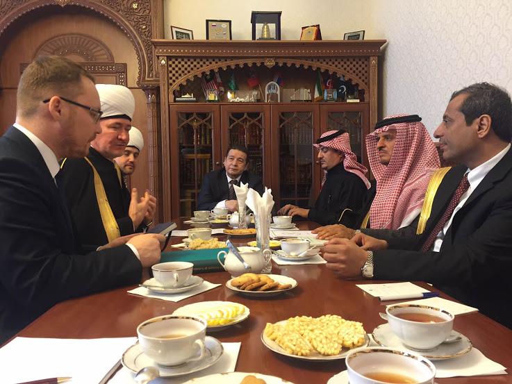 الشيخ راوي عين الدين رئيس مجلس الافتاء في روسيا2
