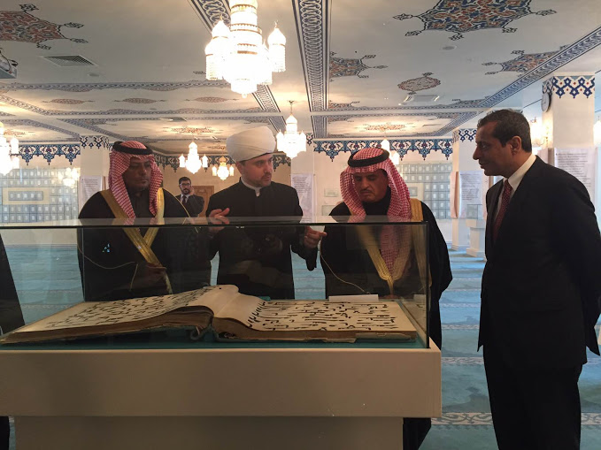 الشيخ راوي عين الدين رئيس مجلس الافتاء في روسيا3