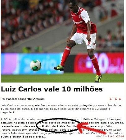 الصحيفة البرتغالية