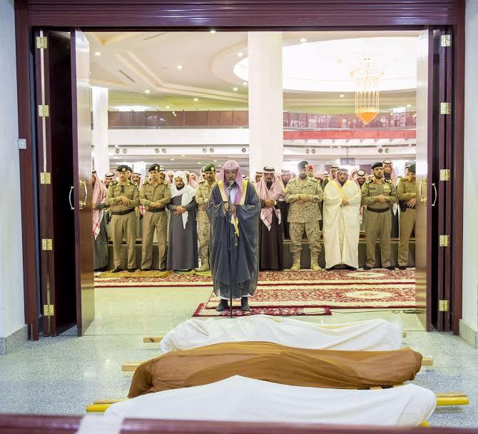 الصلاة على الشهيد احمد فضي الحربي