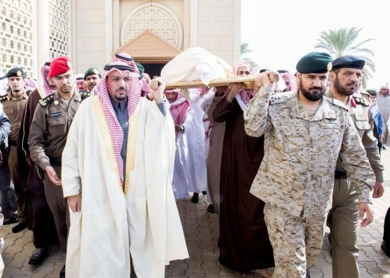 الصلاة على الشهيد احمد فضي الحربي1