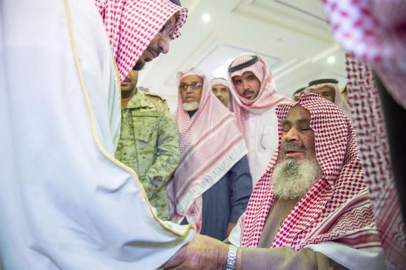 الصلاة على الشهيد احمد فضي الحربي2