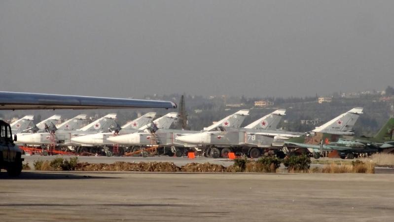 الطائرات الروسية تغادر سوريا