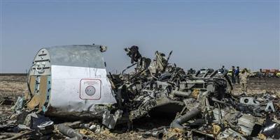 الطائرة الروسية انفجرت من الداخل لا الخارج
