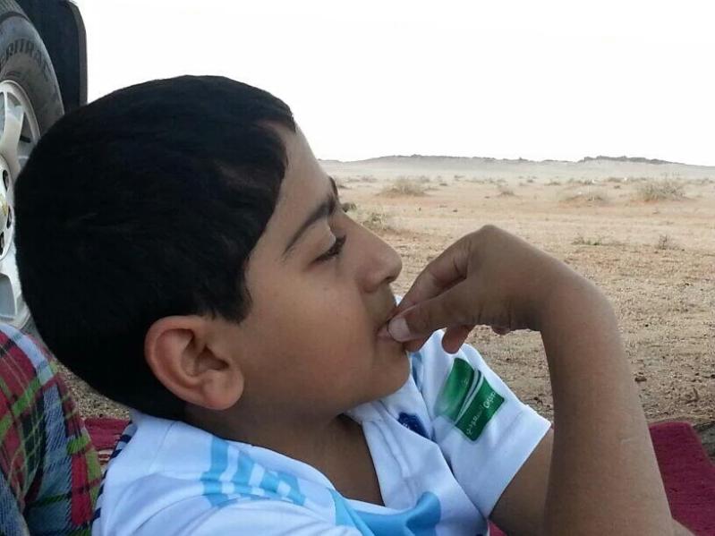 الطفل عبدالله الجريد (2)