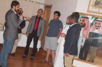 """""""الطلاب السعوديون"""" بجامعة ميزوري-كانساس الأمريكية يهنئون القيادة والمرابطين بالعيد - المواطن"""