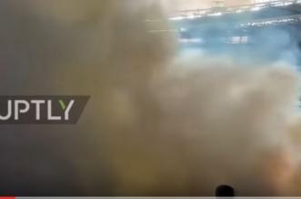 بالفيديو.. الألعاب النارية كادت تحرق الجماهير - المواطن