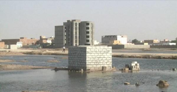 العاصمة الموريتانية مهددة بالغرق