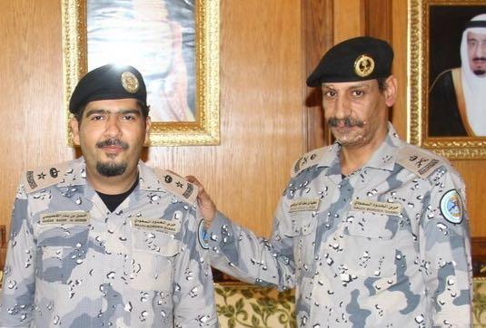 العتيبي يقلد عدد من ضباط حرس الحدود (5)