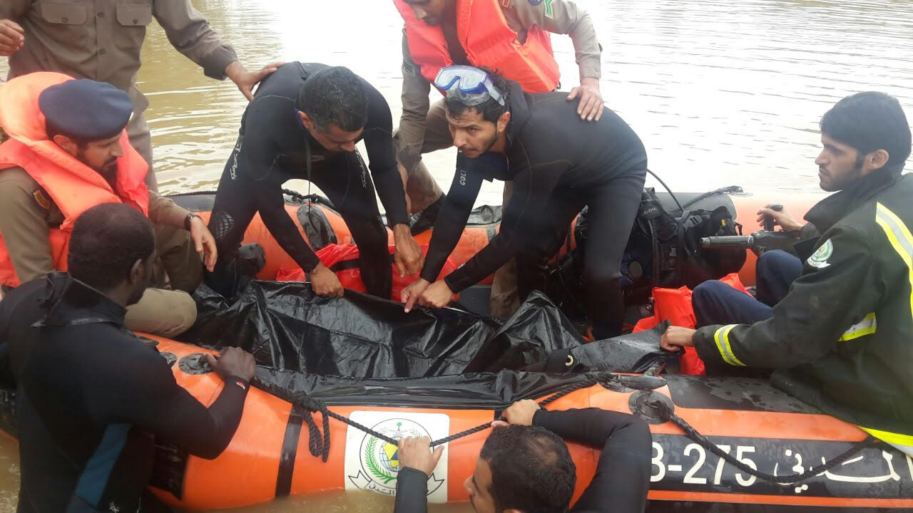 العثور على جثة غريق الجنابين العشريني بالباحة (1)