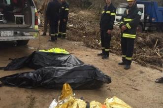 بالصور.. العثور على جثث أب وطفليه جرفتهم السيول في #الباحة - المواطن