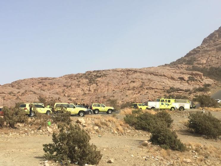 العثور على مفقود جبال الهدا حي يرزق (3)
