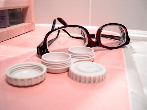 العدسات نظارات عيون نظر