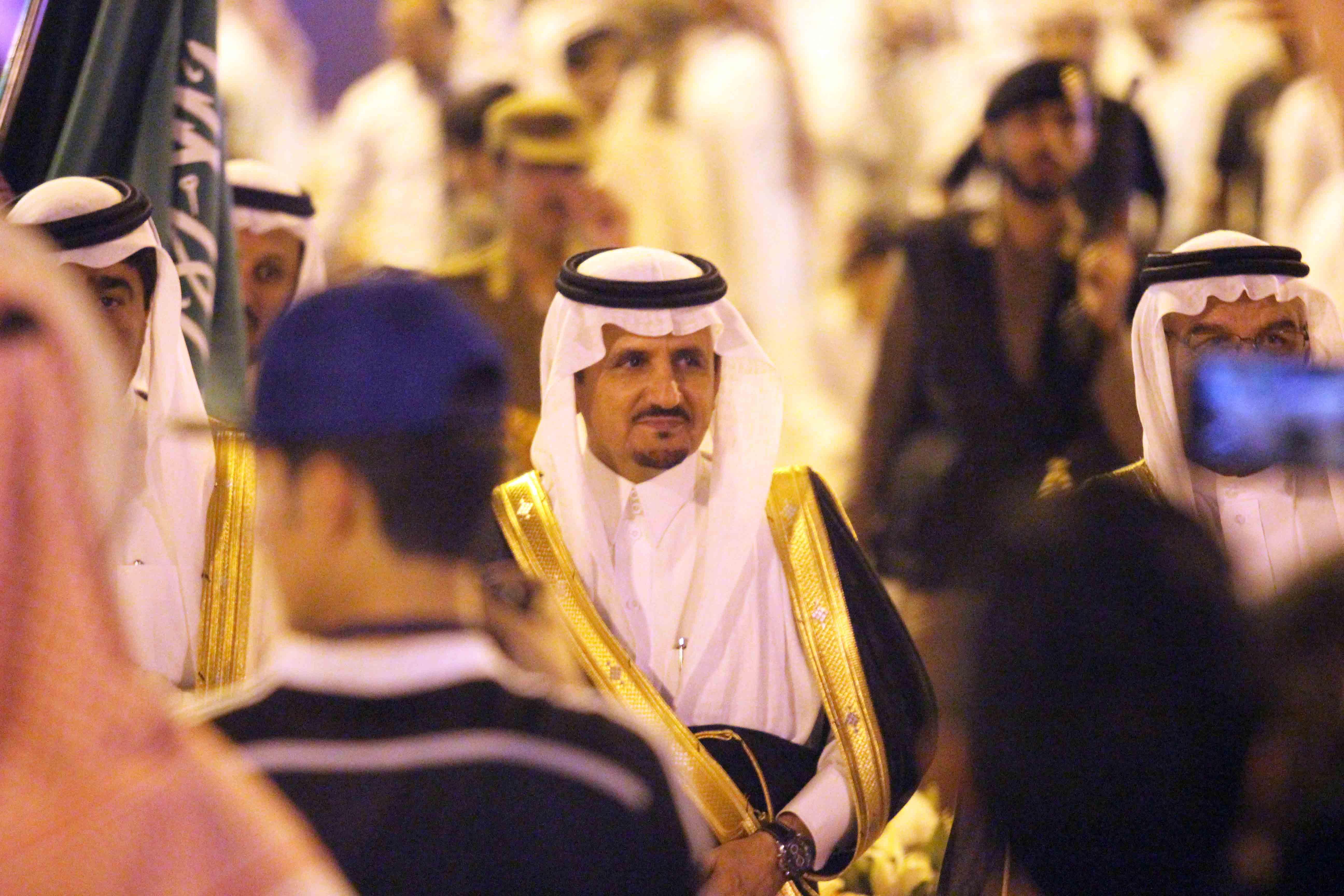 العطيشان يدشن فعاليات العيد بحفرالباطن وسط حضور غفير (21)