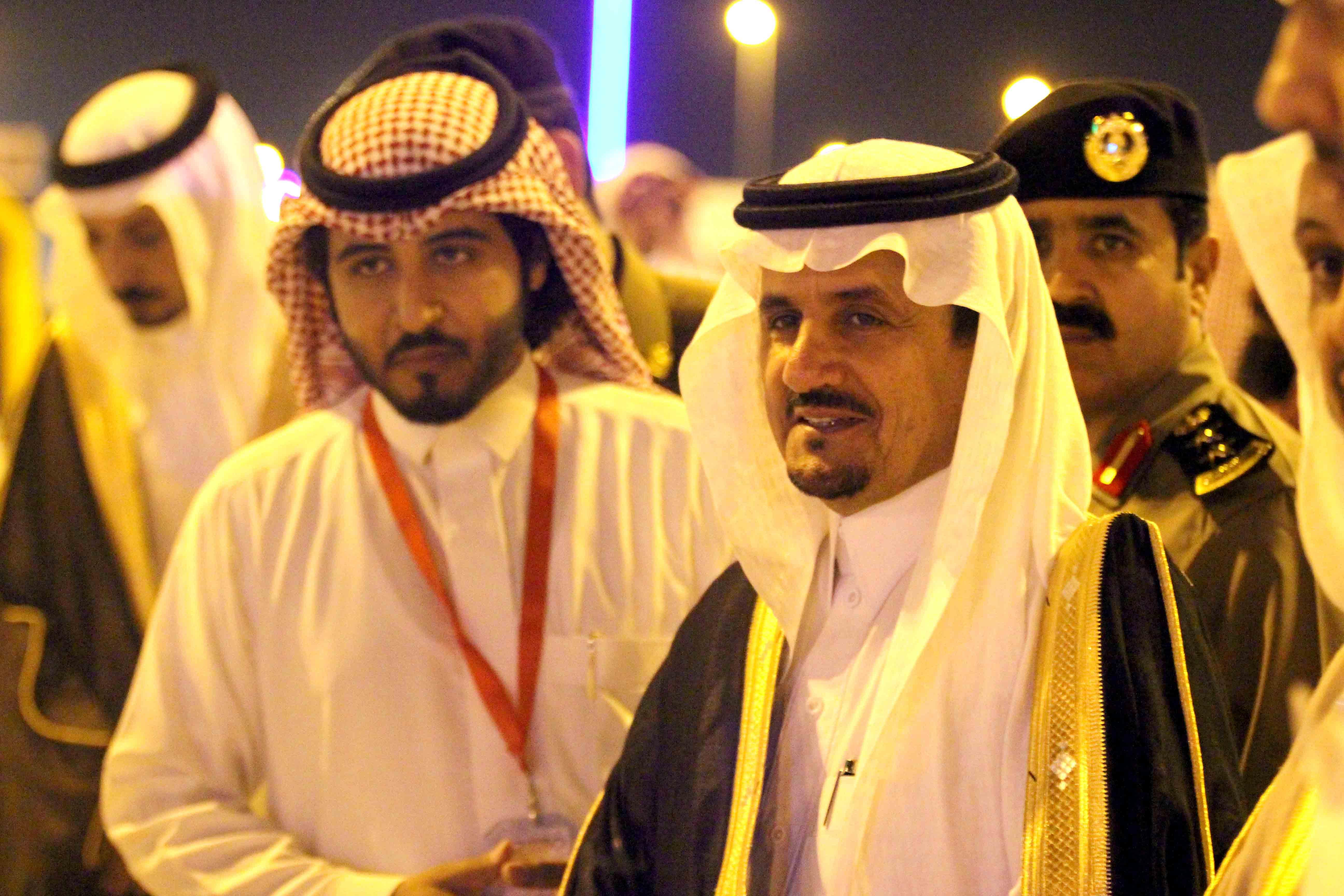 العطيشان يدشن فعاليات العيد بحفرالباطن وسط حضور غفير (6)
