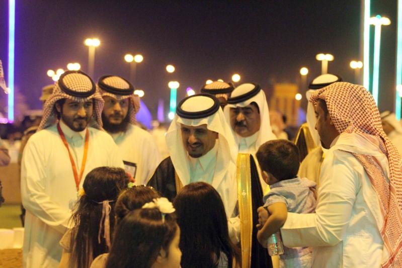 العطيشان يدشن فعاليات العيد بحفرالباطن وسط حضور غفير (7)