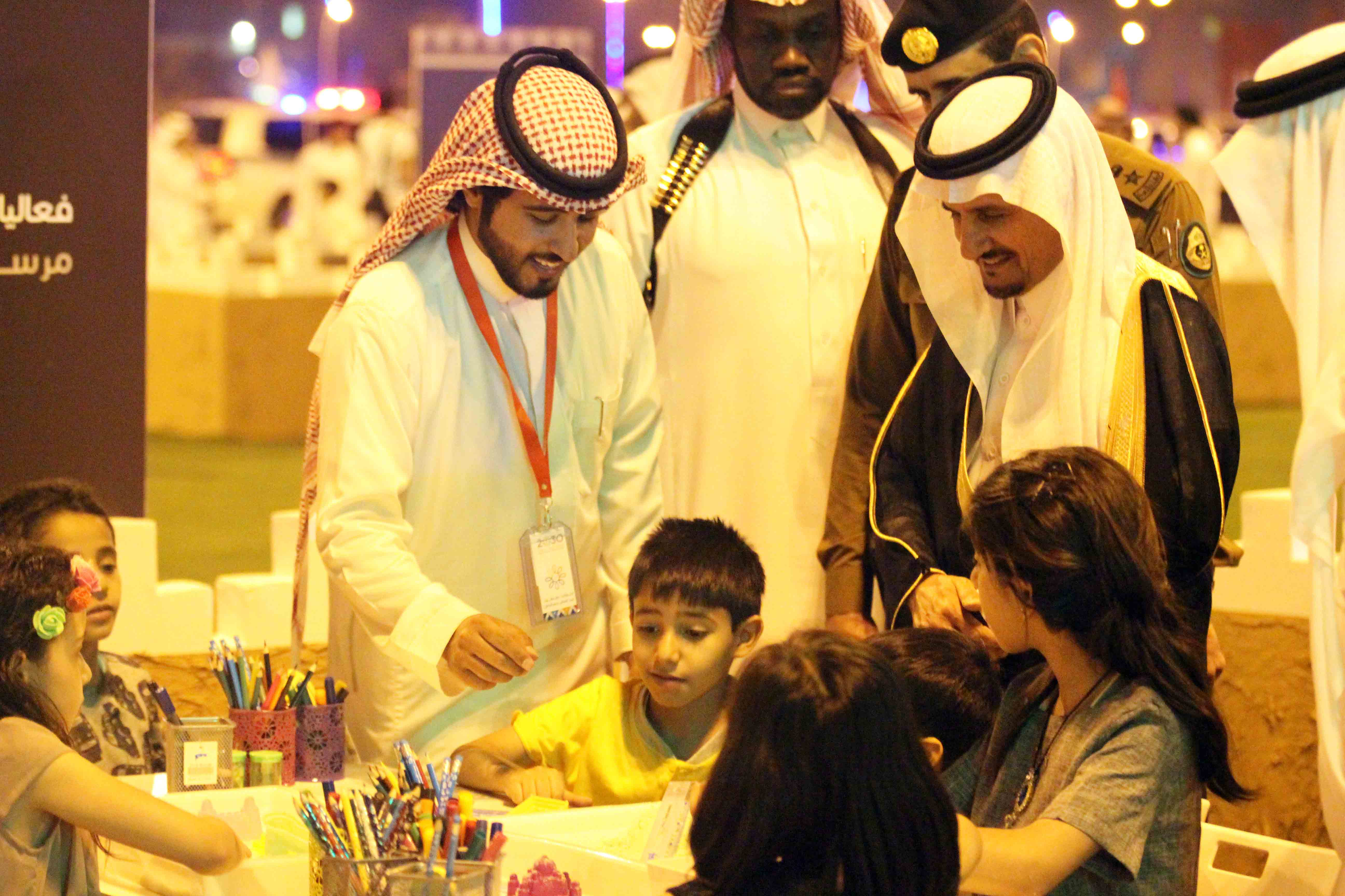 العطيشان يدشن فعاليات العيد بحفرالباطن وسط حضور غفير (8)