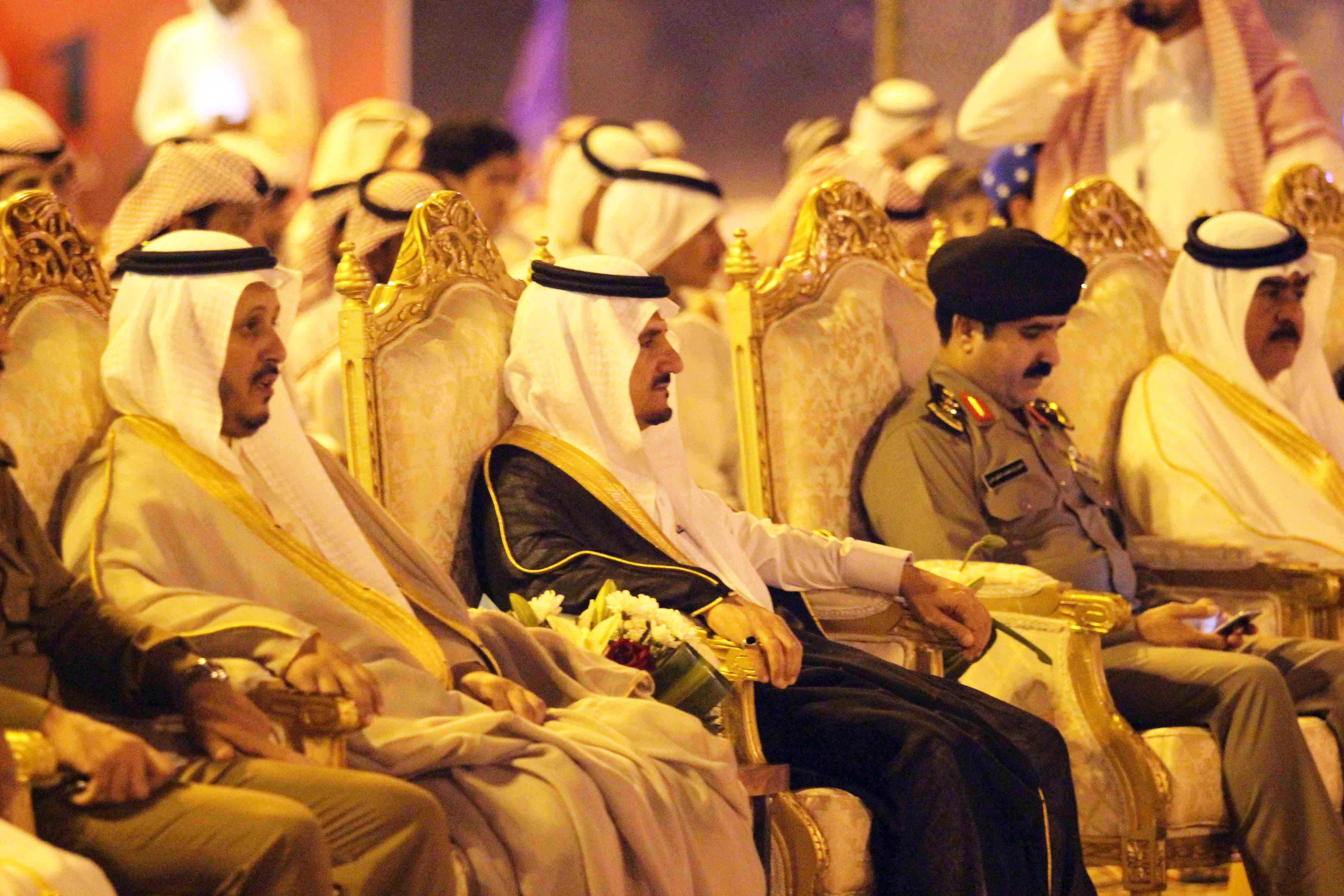 العطيشان يدشن فعاليات العيد بحفرالباطن وسط حضور غفير (9)