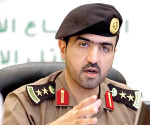 مدير إدارة العلاقات العامة والإعلام في مديرية شرطة منطقة مكة المكرمة العقيد بدر بن سعود آل سعود