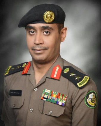 العقيد حسن بن صالح الحسن رئيس مركز القيادة والتحكم والمتحدث الرسمي بمرور الرياض