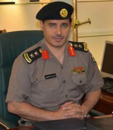 العقيد محمد السهيمي قائد الدوريات الامنية للعاصمه المقدسة
