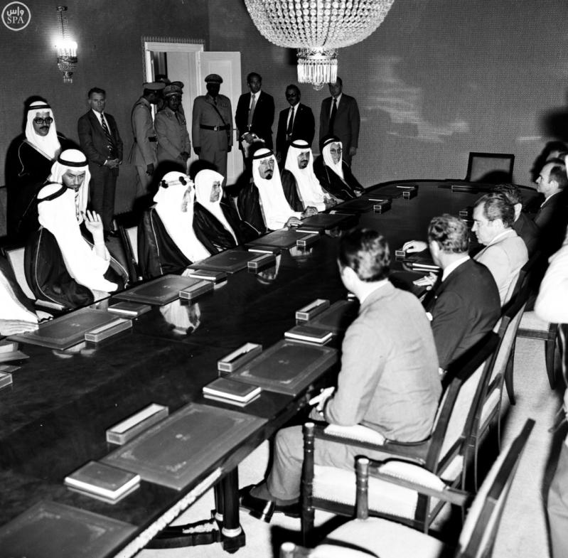 العلاقات السعودية الامريكية 5