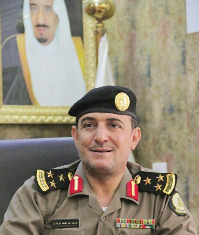 العميد بندر خلف الراشد مدير سجون منطقة الجوف