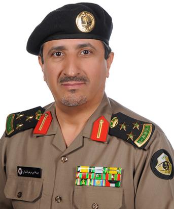 العميد عبدالهادي بن درهم الشهراني
