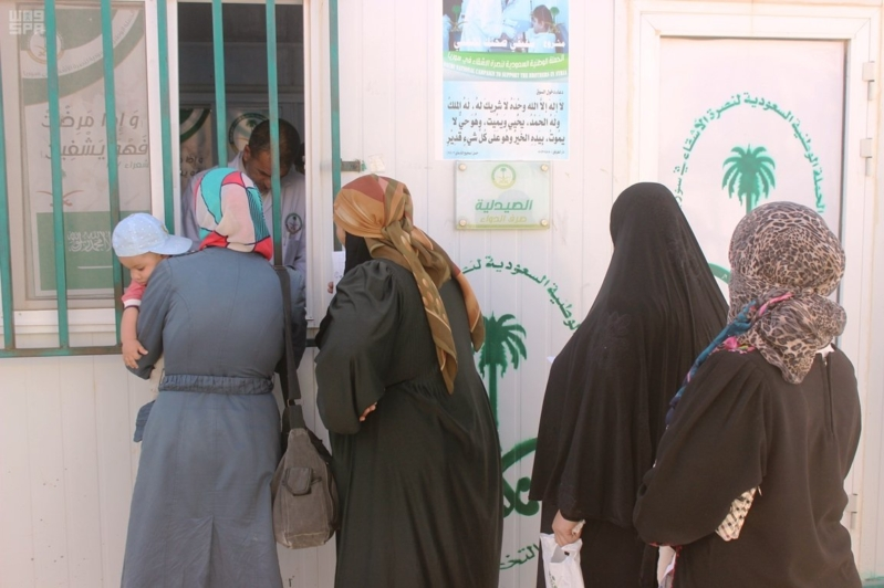 العيادات التخصصية علاج الاشقاء السوريين (1)