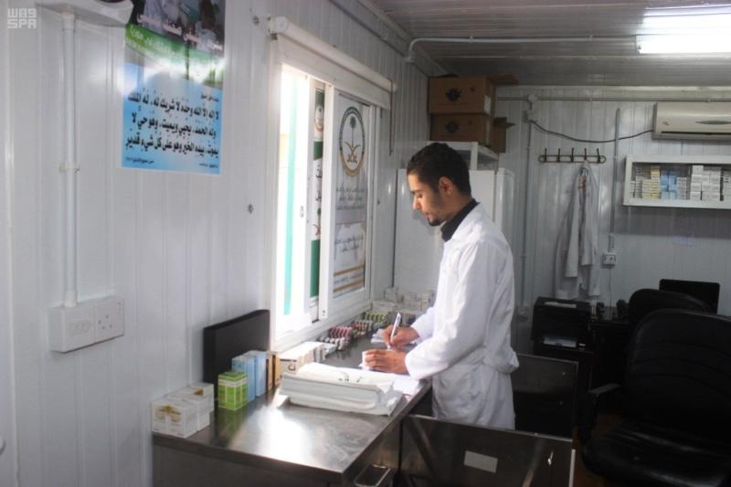 العيادات التخصصية علاج الاشقاء السوريين (5)