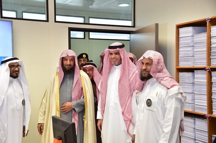 العيسى يزور عمارة التعلم الإلكتروني بجامعة الإمام5