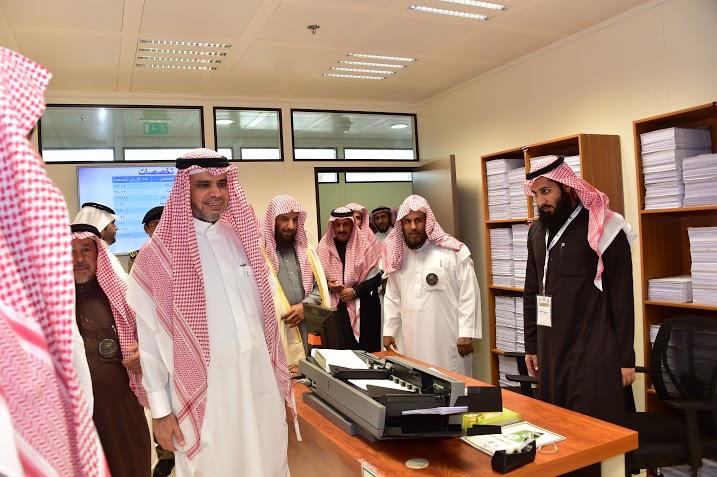 العيسى يزور عمارة التعلم الإلكتروني بجامعة الإمام6