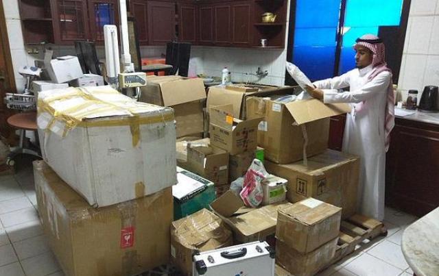 ضبط 1489 منتجاً طبياً مخالفاً بفيلا سكنية في جدة - المواطن