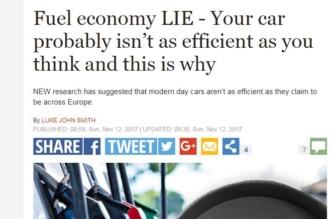 تقرير دولي يكشف خدعة معدلات استهلاك السيارات للوقود - المواطن