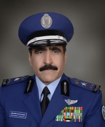 الفريق الركن محمد بن احمد الشعلان قائد القوات الجوية الملكية السعودية