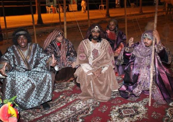 الفيصل يفتتح سوق عكاظ (7)