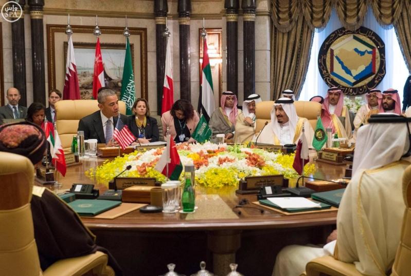 القاده يختتمون القمه الخليجية الامريكية (10)