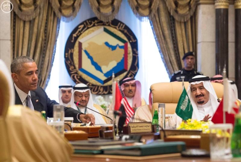 القاده يختتمون القمه الخليجية الامريكية (11)