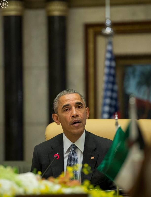القاده يختتمون القمه الخليجية الامريكية (13)